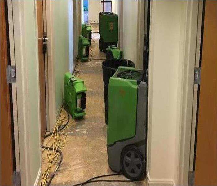 Commercial Water Damage – Faribault Offices Before