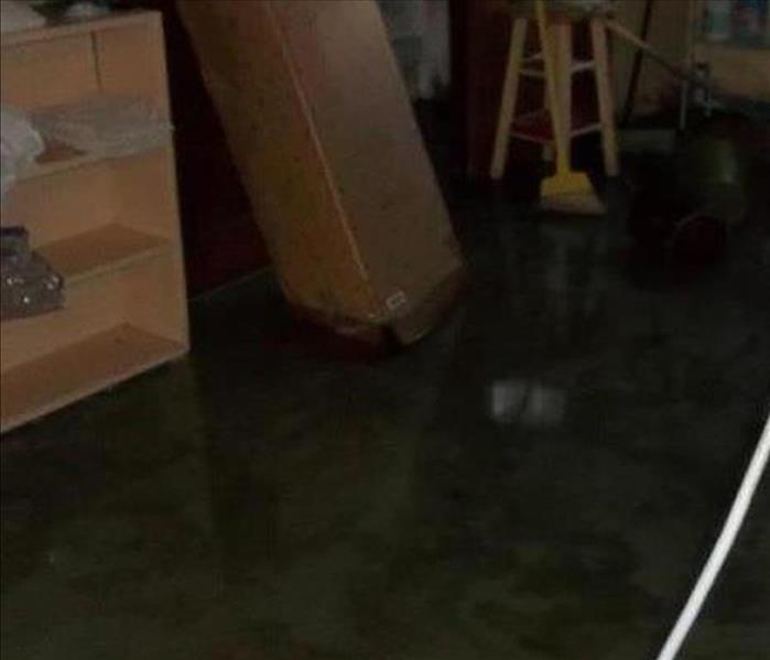 Northfield Water Damage in a Basement