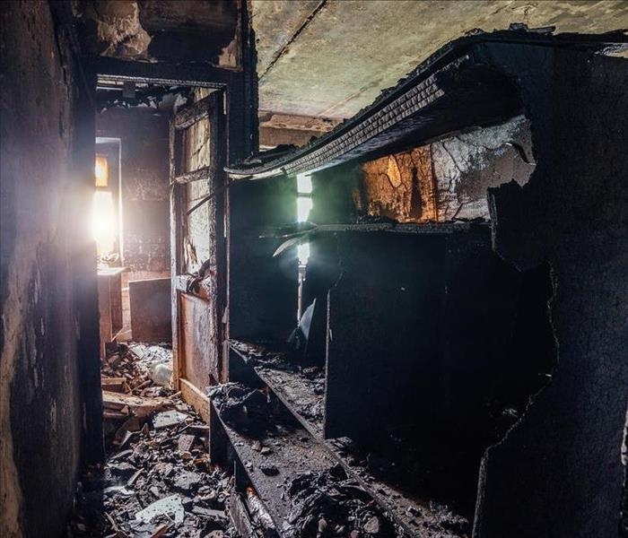Fire Damage DIY Soot Removal is a Risky Business That is Best Left to SERVPRO Pros